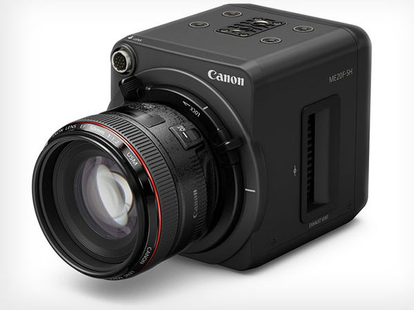 Canon night vision camera launched, capable of recording HD video