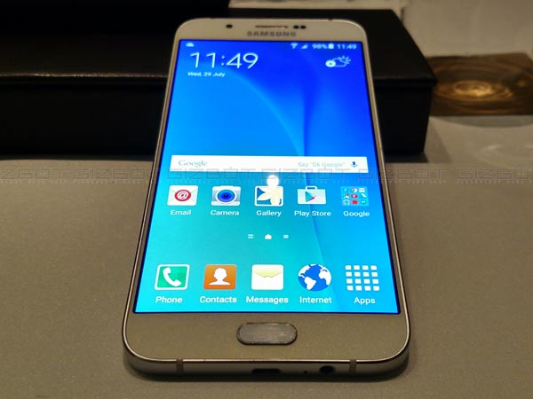 Samsung Galaxy A8 launched in India, priced at Rs 32,500