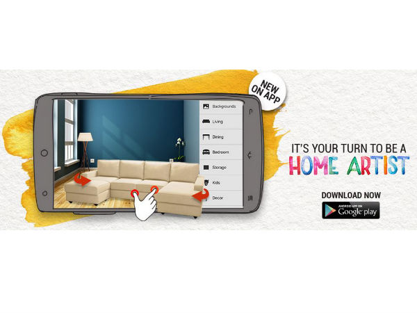 Urban Ladder Unveil Apps Feature to Create Room Looks