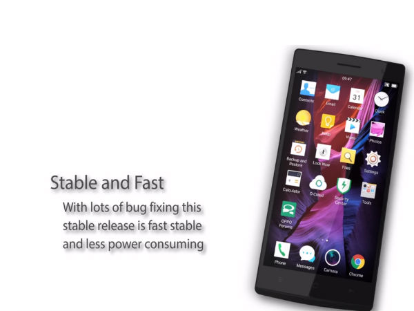 Oppo Releases new ColorOS 2.1.3i  for Find 7, Find 7a Smartphones