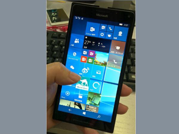 Leaked Lumia 950 XL images hints at Microsoft's upcoming flagship phon