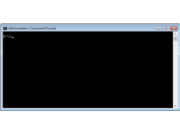 Step 3: Command Prompt