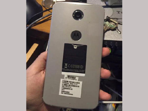 Google Nexus 6 Prototype Gets Leaked with a Fingerprint Sensor