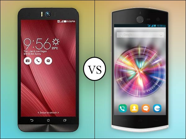 Asus Zenfone Selfie vs Micromax Canvas Selfie: Which one is the best