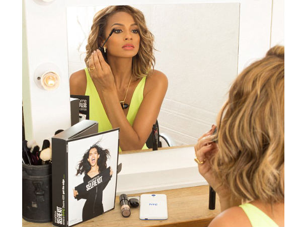 Alesha Dixon launches make-up kit for selfies