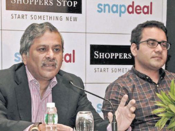 Snapdeal, Shoppers Stop enter into strategic partnership