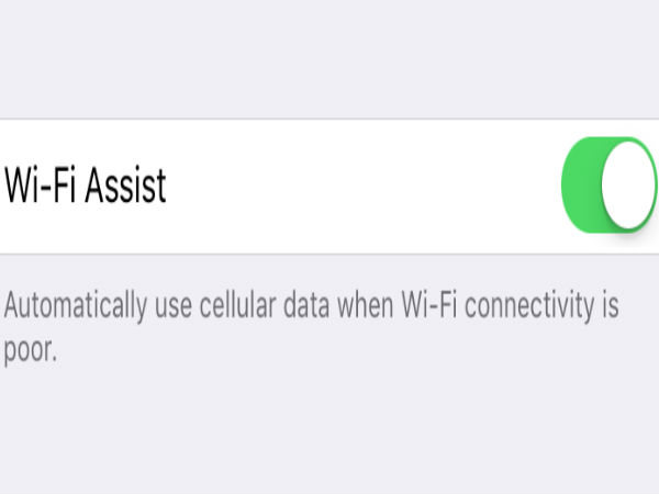 iOS 9 Beta 5 can automatically switch from Wi-Fi to Mobile data