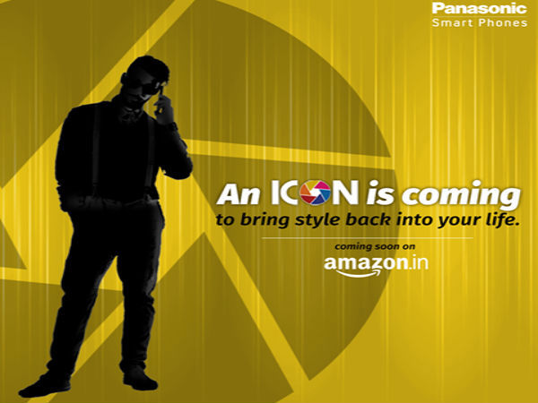 Panasonic teases a new smartphone, to launch it exclusively on Amazon