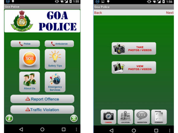 Goa police launch app to report crimes, emergencies
