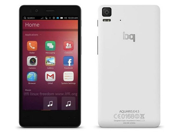 BQ Aquaris E4.5 becomes the first Ubuntu OS smartphone to be available