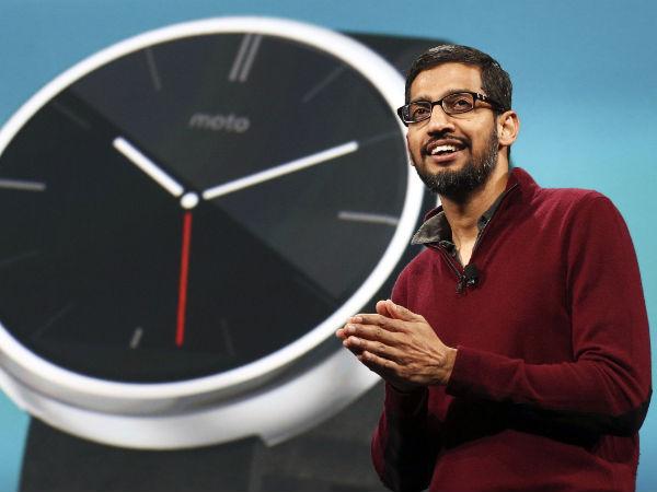 India-born Sundar Pichai Becomes Google's New CEO