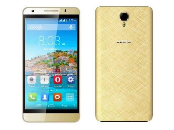 Intex Cloud M6 16GB with 5-inch Display, 2GB RAM Launched at Rs 5,999