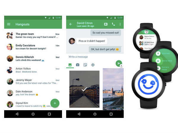 Google Updates Hangouts 4.0 with Updated Material Desgin