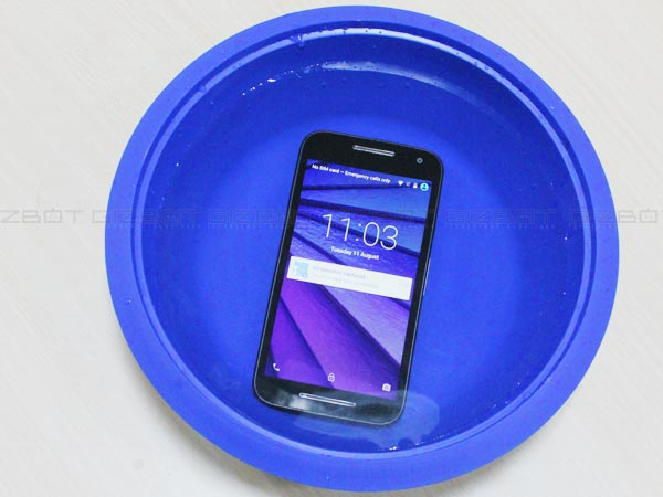 official photos d7bfd e98d5 Motorola Moto G 3rd Gen Review: A worthy deal for Rs 12k - Gizbot ...