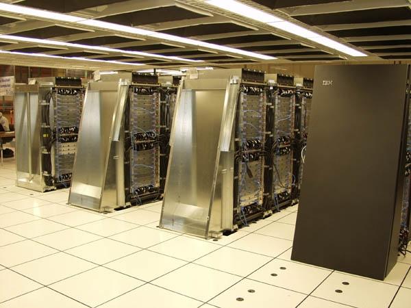 Supercomputer shut down due to China blasts