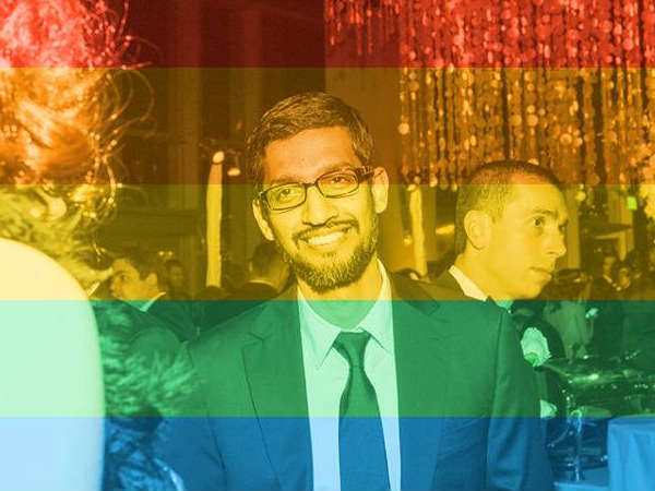 Sundar Pichai's Official FB Account Profile Picture