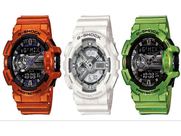 Casio India Launched Series of G-Shock Wristwatches