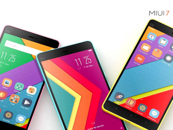 Xiaomi unveils MIUI 7: Everything You Need To Know
