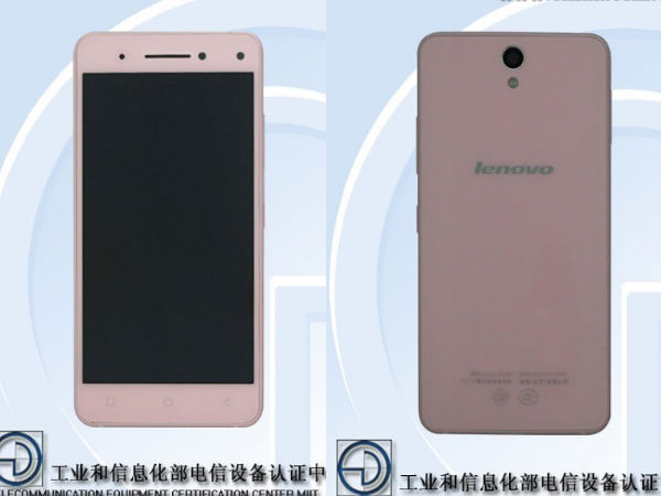 Lenovo Vibe S1 Spotted at TENAA with Dual Front Camera [Report]