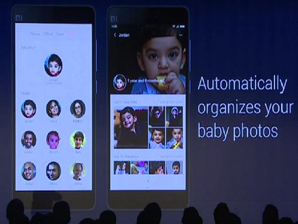 Face-recognition in Photos app
