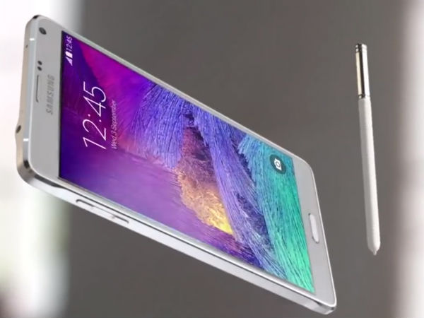 Samsung working on Note 5 Active with a larger 4100mAh battery