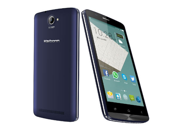 Karbonn Aura 9 with 5-inch Display, Quad-Core CPU Launched at Rs 6,390