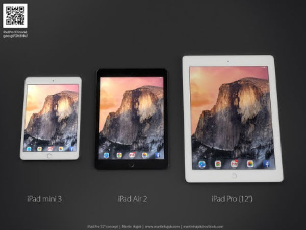 Apple Working On 12.9 Inch iPad Pro: Features Stylus And Force Touch