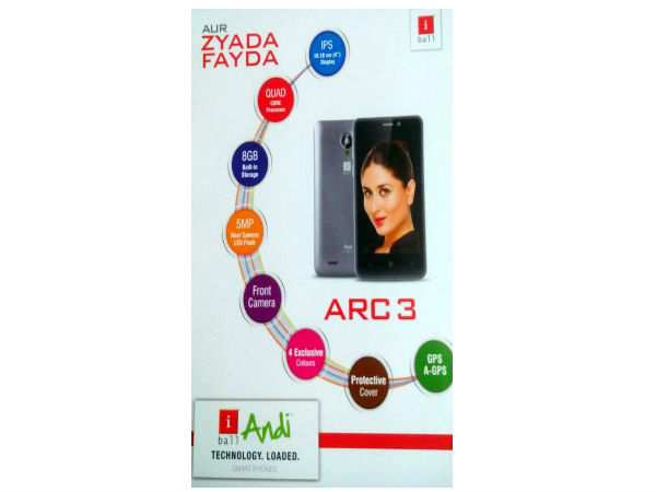 iBall Cobalt 6 and Andi 4F ARC3 with 3G Connectivity is Now Available
