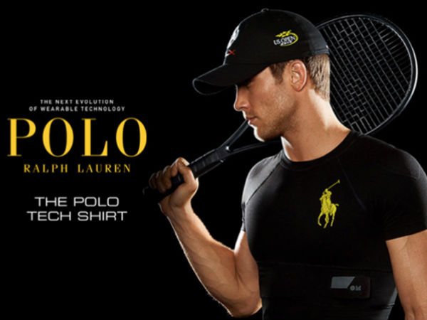 Ralph Lauren new line of Polo Shirts can double up as a Fitness Tracke