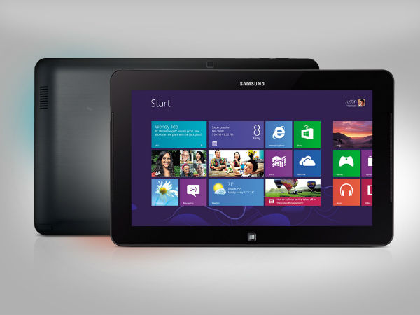 Samsung Rumored To Be Working On 12 Inch Windows 10 Tablet