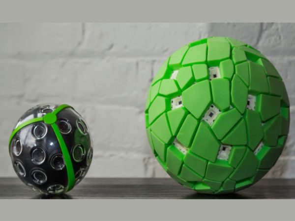 Here's A Football that can click 108MP resolution 360 degree snapshots