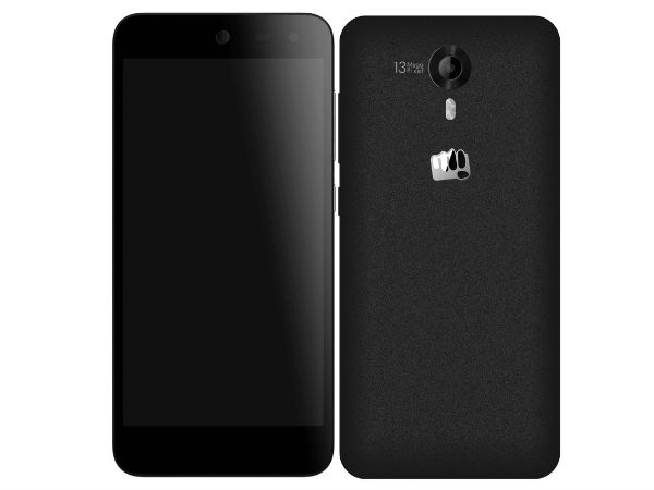Micromax Canvas Nitro 4G E455 Launched in India At Rs 10,430