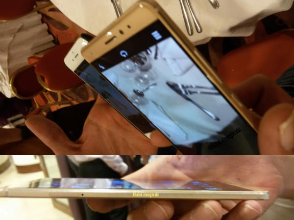 Huawei Mate S leaked again in a set of hands on image