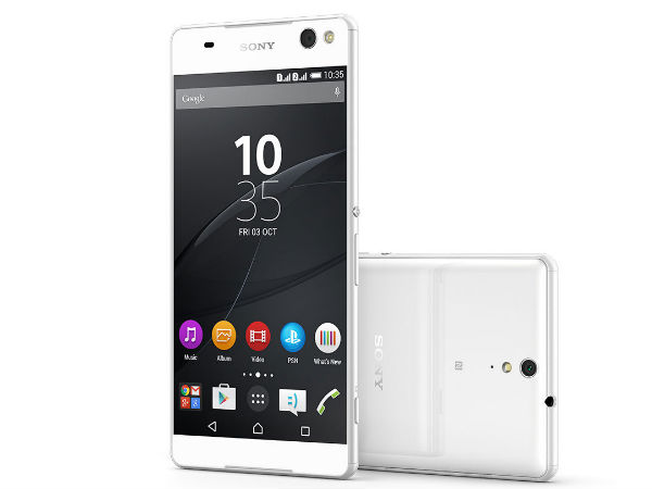 Sony Xperia C5 Ultra Dual with  13MP Selfie Camera Launched in India