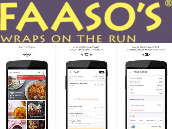 Faasos food chain moving to