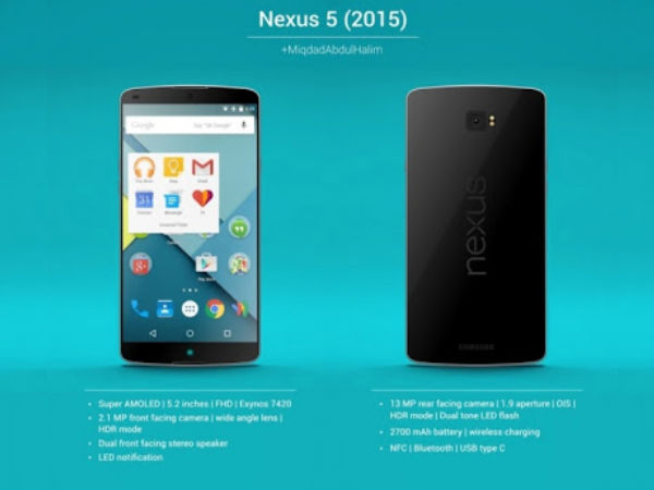 LG Nexus 2015 to reportedly have a better camera than its Huawei