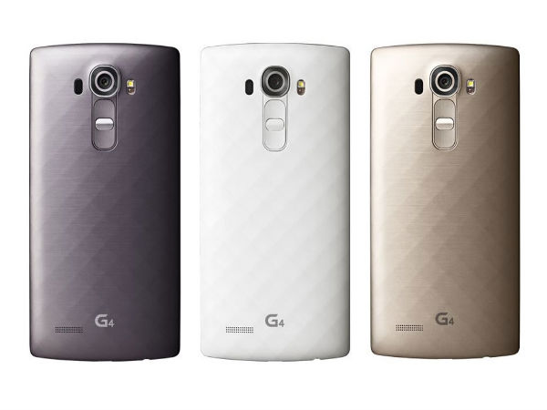 LG G4 Metallic back variant now available in India for Rs 40,000