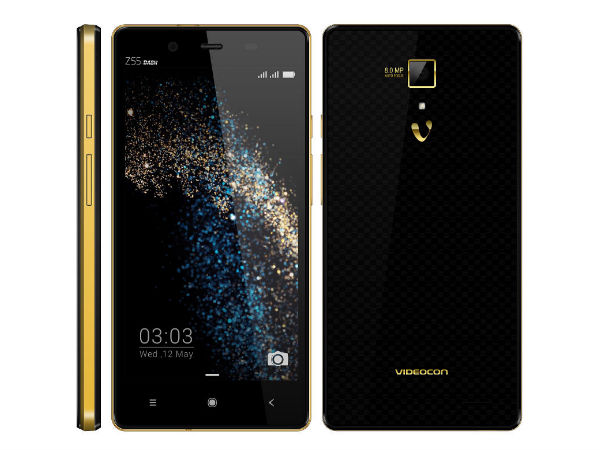 Videocon Z55 Dash with 5-inch Display, Octa-Core CPU Launched