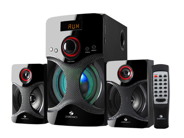 Zebronics Launches 2.1 and 4.1 Multimedia Speakers