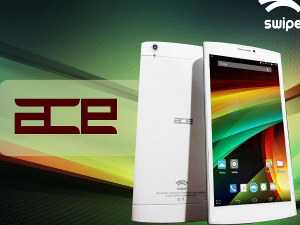 Swipe ACE Tablet with 6.95-inch Display, Quad-Core CPU Launched