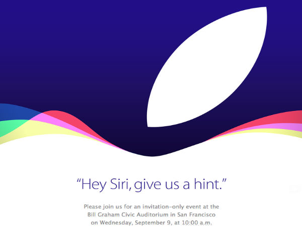 Apple to Hold iPhone Event on September 9: Official!
