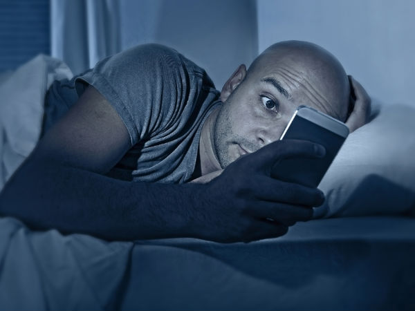 Using smartphones at night may disrupt sleep in teens