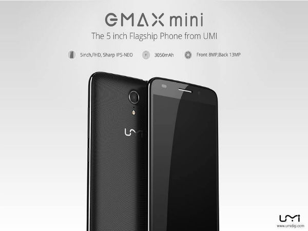 UMi eMax Mini flagship smartphone teased