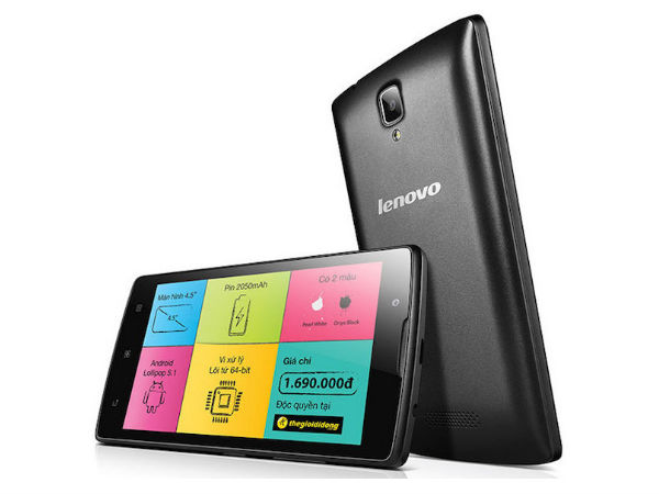 Lenovo A2010: Buy At Price of Rs 4,990