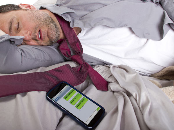 Smartphone sensor to tell how well you sleep