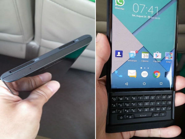 Unannounced Blackberry Venice gets hands on treatment in leaked photos