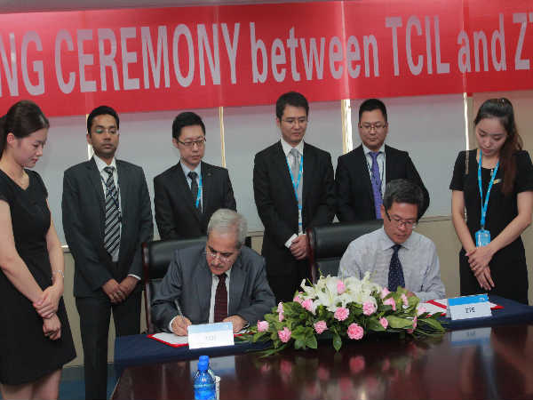 ZTE Ties-Up with TCIL To Drive Smart City Solution