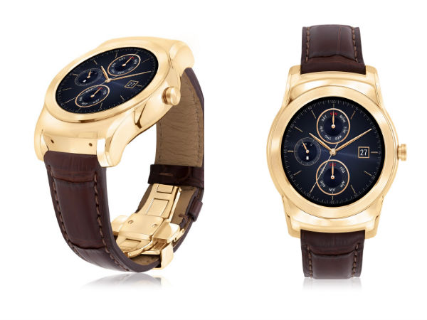 LG Watch Urbane Luxe Limited Edition with 23-Karat Gold Announced