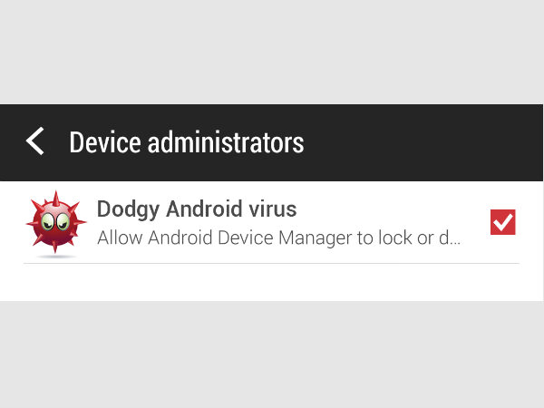 Step 4: Device Administrator