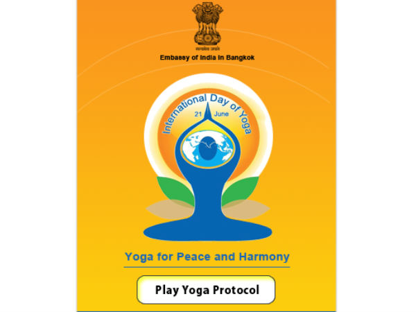 Free mobile yoga app launched in Thailand